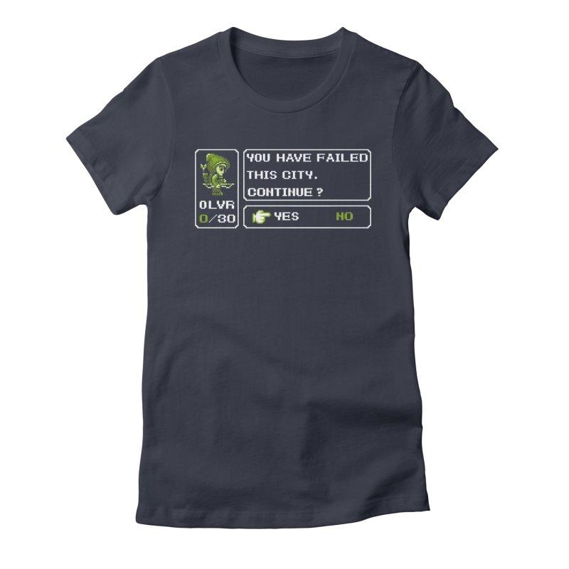 8-Bit Archer Women's Fitted T-Shirt by Hidden Nature's Artist Shop
