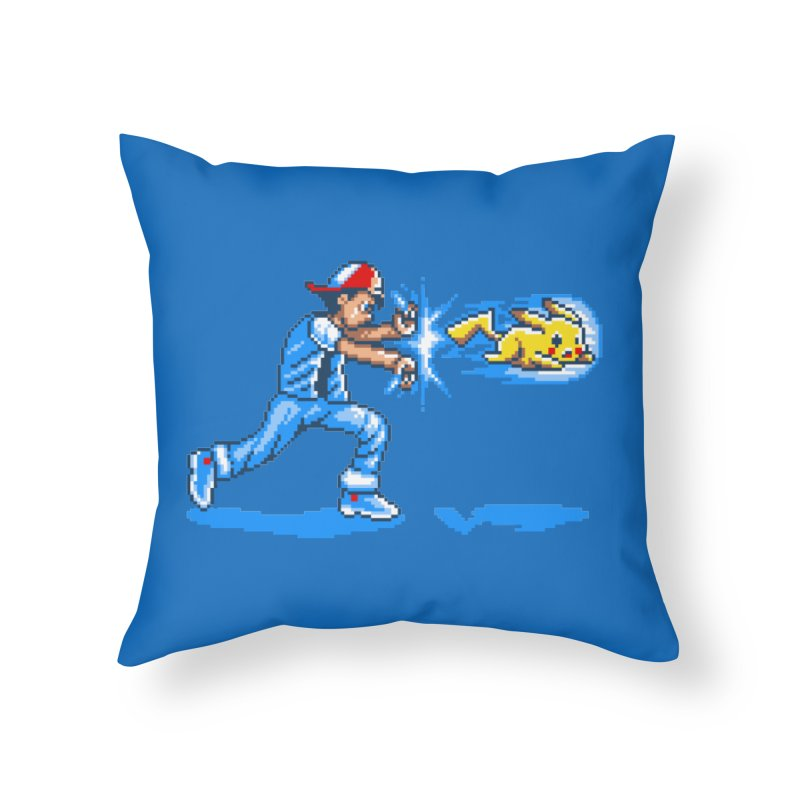 Pikadouken! Home Throw Pillow by Hidden Nature's Artist Shop