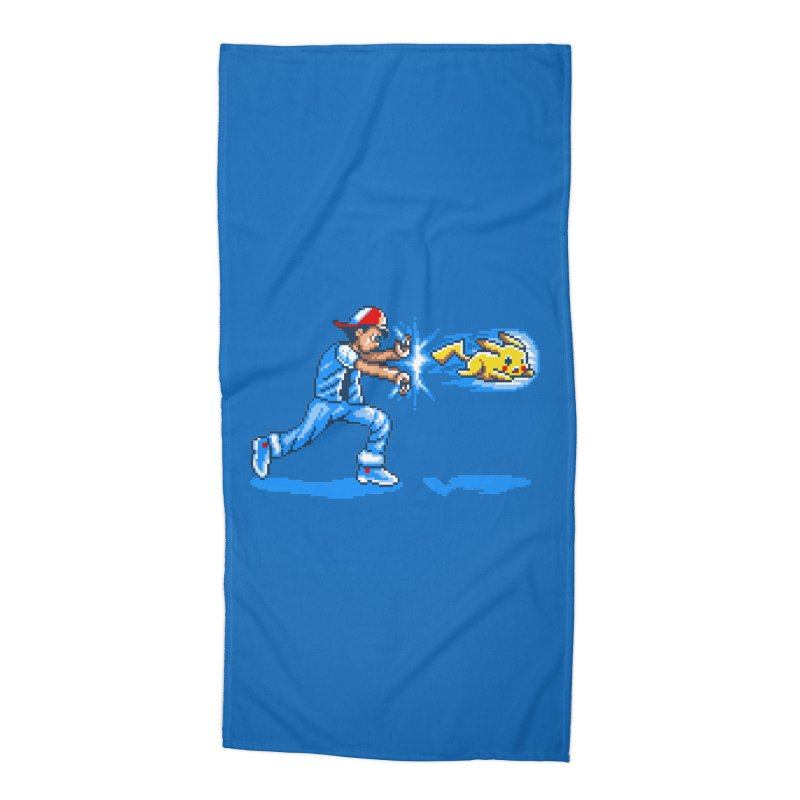 Pikadouken! Accessories Beach Towel by Hidden Nature's Artist Shop