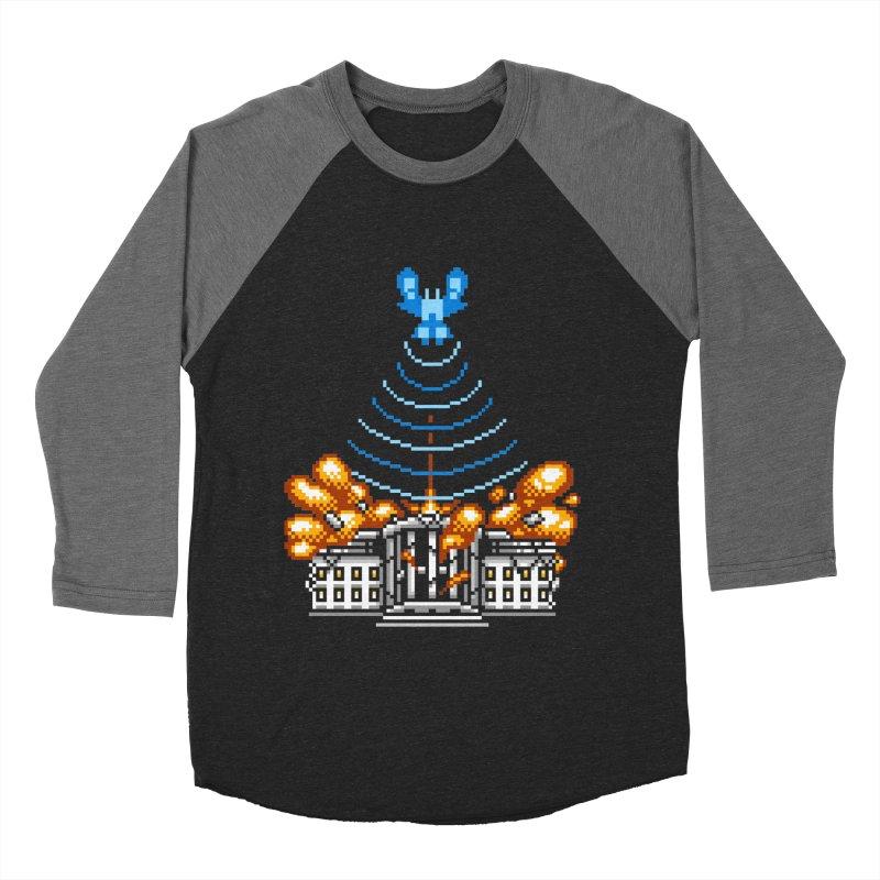 Blown 2 Bits Men's Baseball Triblend T-Shirt by Hidden Nature's Artist Shop