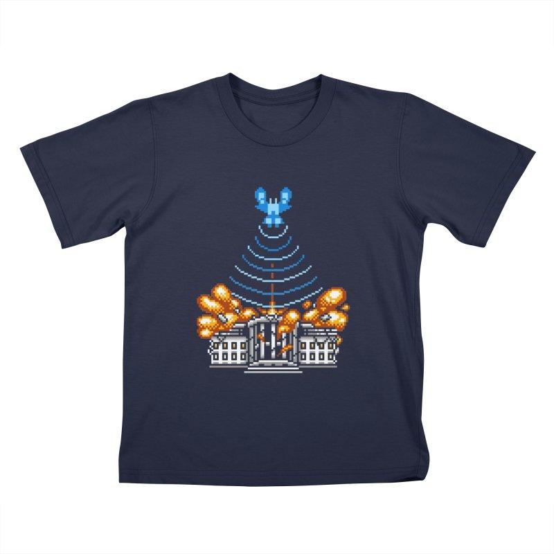 Blown 2 Bits Kids T-Shirt by Hidden Nature's Artist Shop
