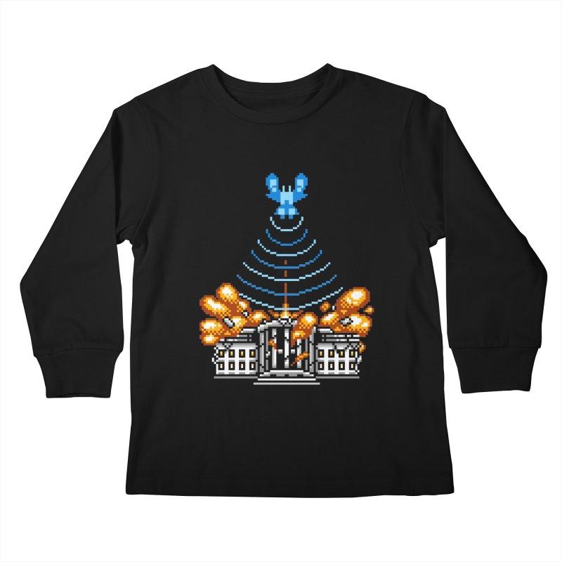 Blown 2 Bits Kids Longsleeve T-Shirt by Hidden Nature's Artist Shop