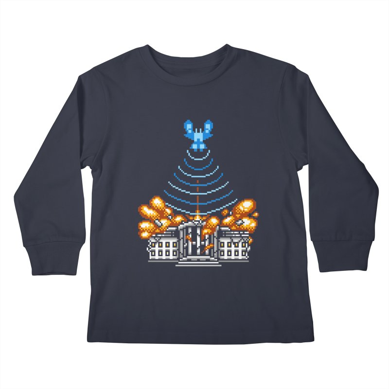 Blown 2 Bits Kids Longsleeve T-Shirt by Hidden Nature's Artist Shop
