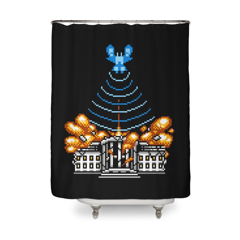 Blown 2 Bits Home Shower Curtain by Hidden Nature's Artist Shop