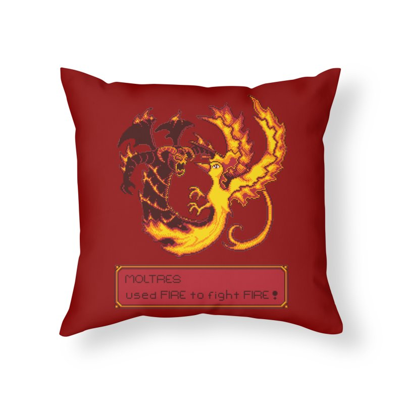 Shadow and Flame Home Throw Pillow by Hidden Nature's Artist Shop