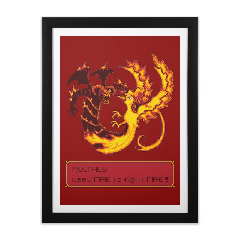 Shadow and Flame Home Framed Fine Art Print by Hidden Nature's Artist Shop