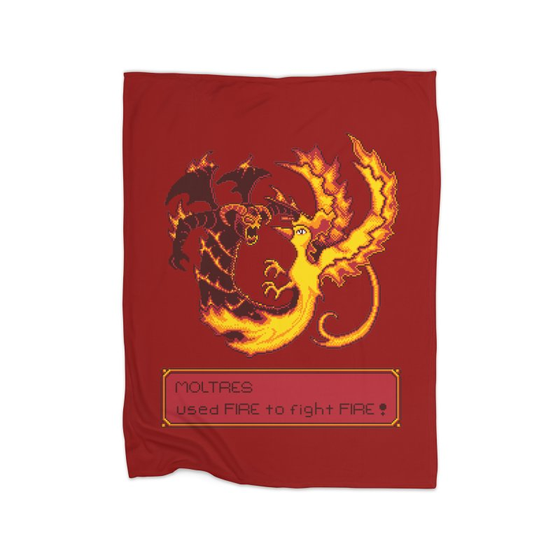 Shadow and Flame Home Blanket by Hidden Nature's Artist Shop