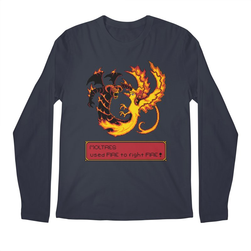 Shadow and Flame Men's Longsleeve T-Shirt by Hidden Nature's Artist Shop