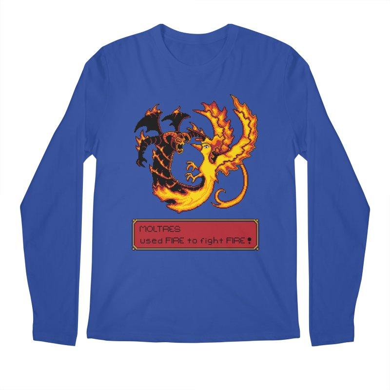 Shadow and Flame Men's Longsleeve T-Shirt by Hidden Nature's Artist Shop