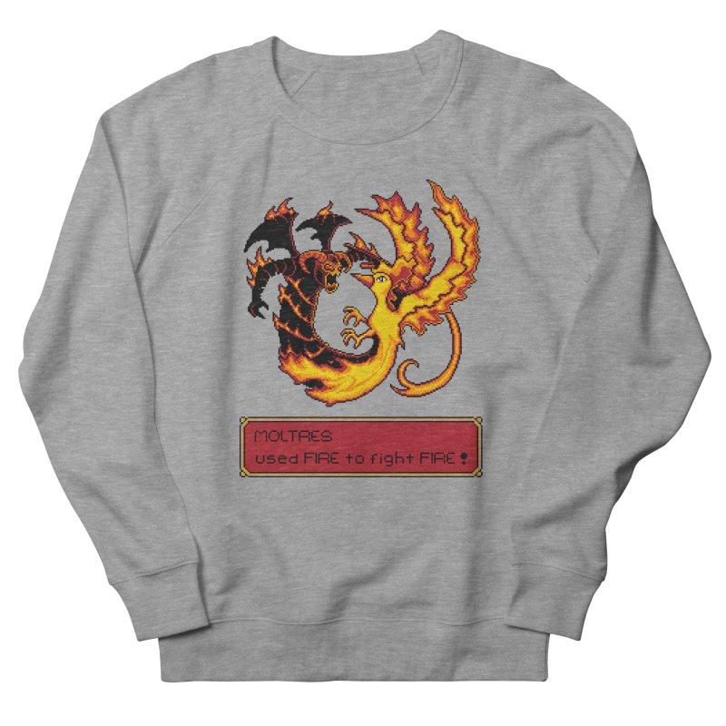 Shadow and Flame Men's Sweatshirt by Hidden Nature's Artist Shop