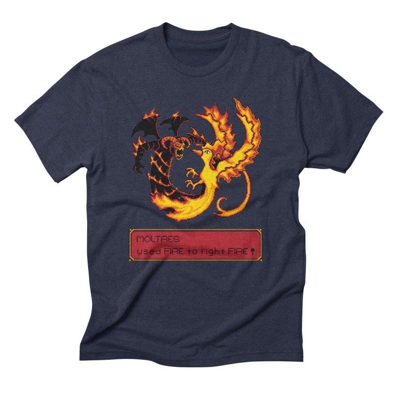 Shadow and Flame Men's Triblend T-shirt by Hidden Nature's Artist Shop