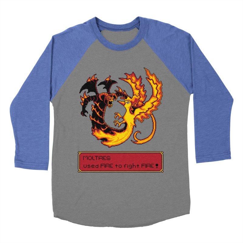 Shadow and Flame Women's Baseball Triblend T-Shirt by Hidden Nature's Artist Shop