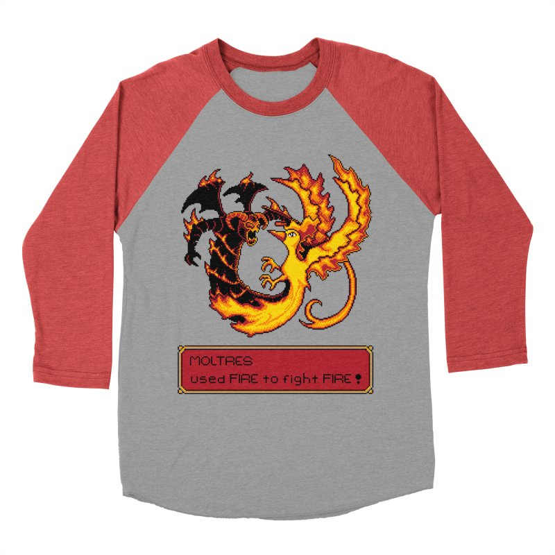 Shadow and Flame Women's Baseball Triblend T-Shirt by Hidden Nature's Artist Shop