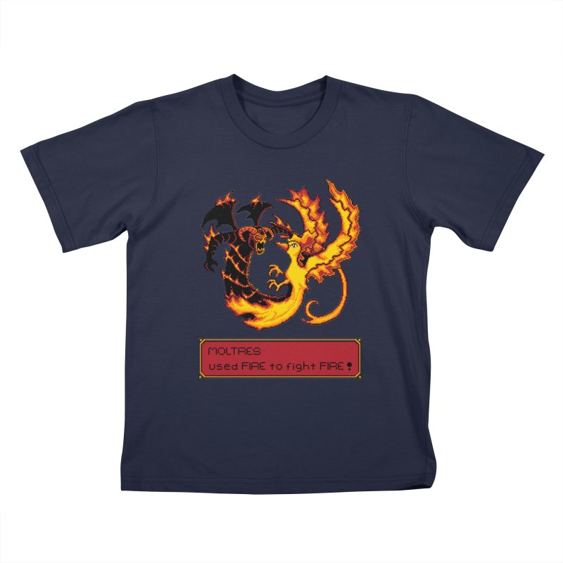 Shadow and Flame Kids T-shirt by Hidden Nature's Artist Shop