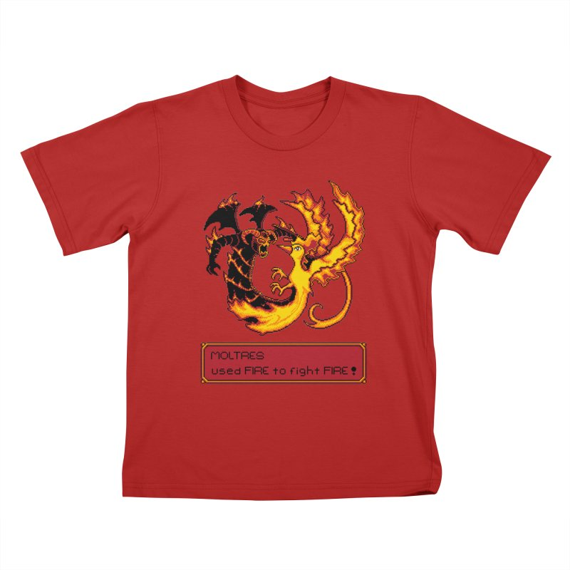 Shadow and Flame Kids T-shirt by Hidden Nature's Artist Shop