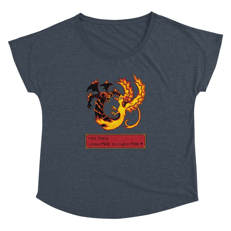 Shadow and Flame Women's Dolman by Hidden Nature's Artist Shop