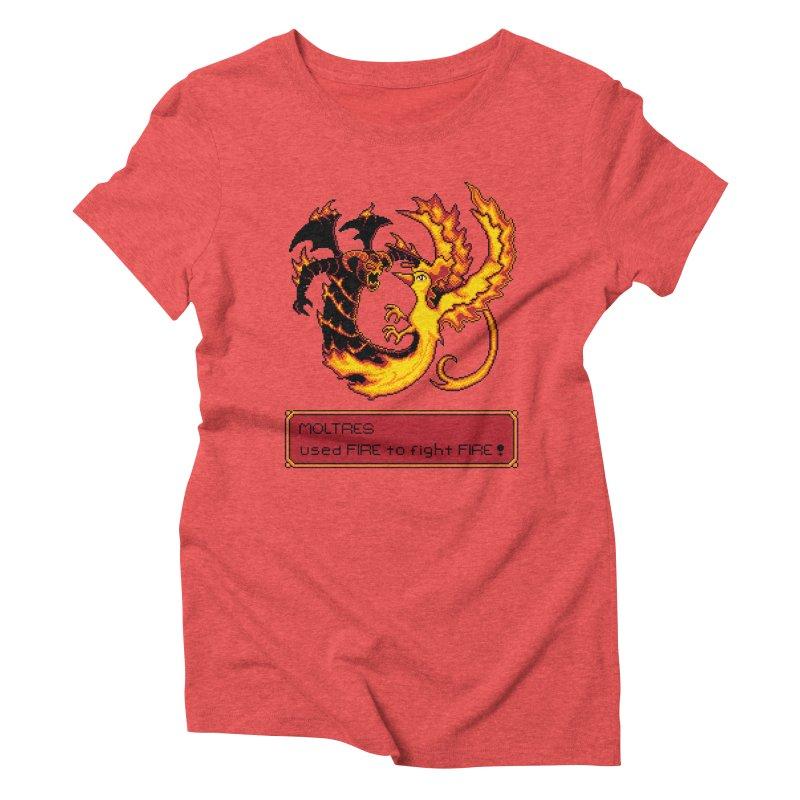 Shadow and Flame Women's Triblend T-Shirt by Hidden Nature's Artist Shop