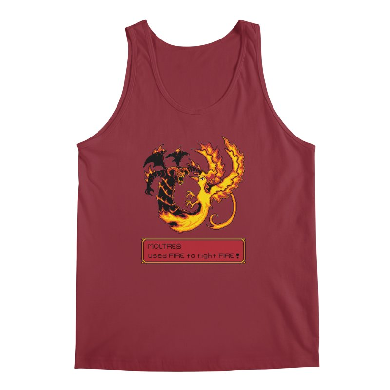 Shadow and Flame Men's Tank by Hidden Nature's Artist Shop