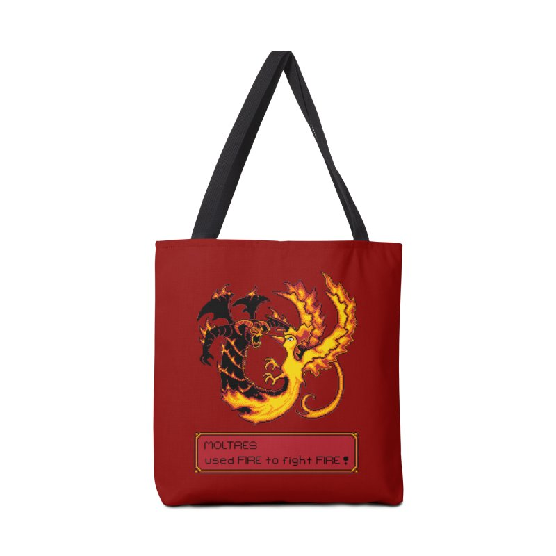 Shadow and Flame Accessories Bag by Hidden Nature's Artist Shop