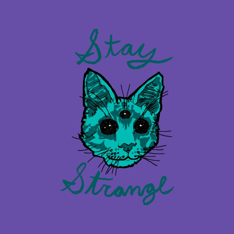 stay strange Home Rug by The Art Shop of HiddenStash