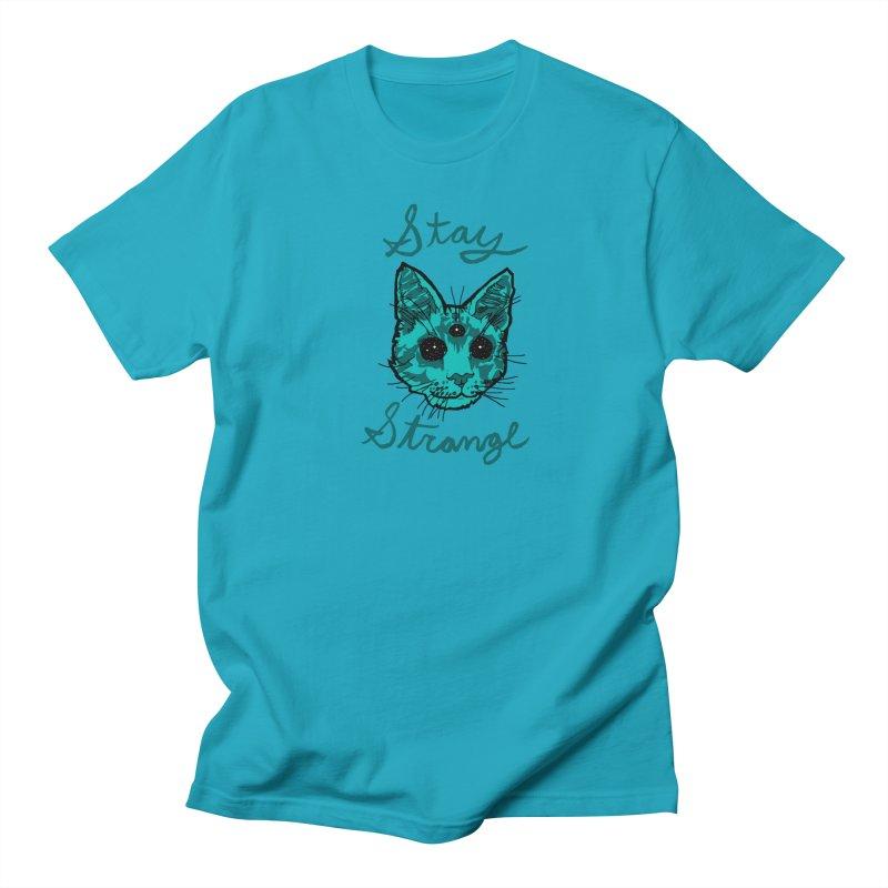 stay strange Men's T-shirt by The Art Shop of HiddenStash