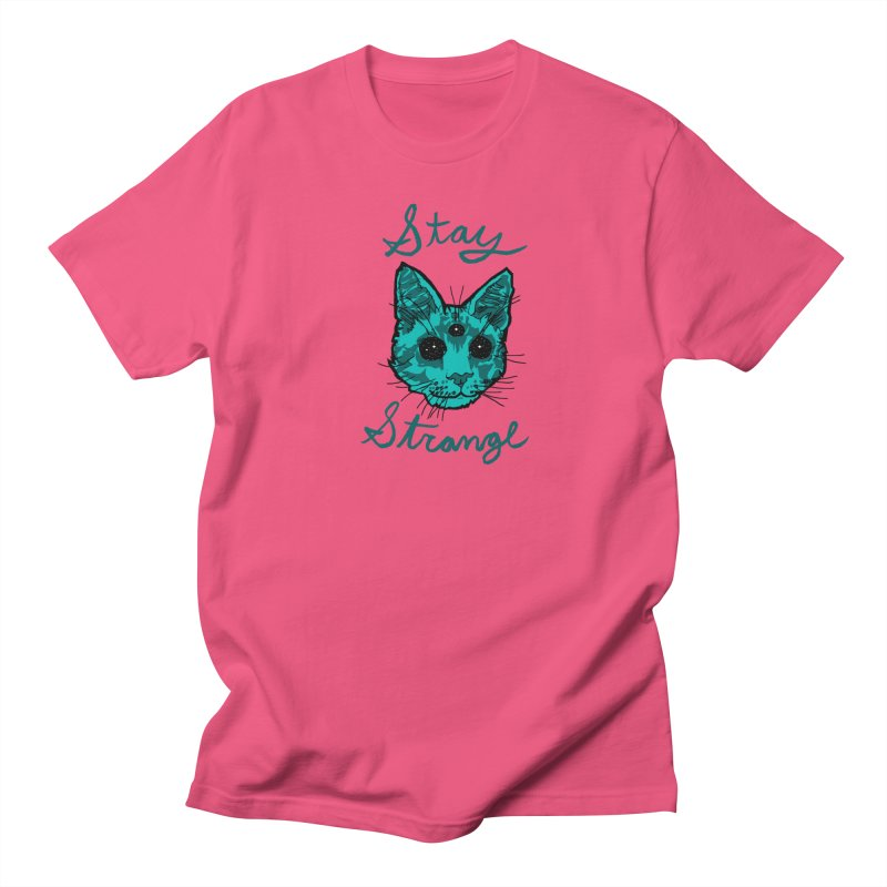 stay strange Men's T-shirt by The Art Shop of HiddenStash