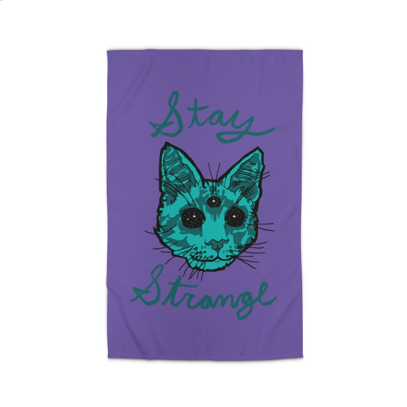 stay strange Home Rug by The Art Shop of HiddenStash