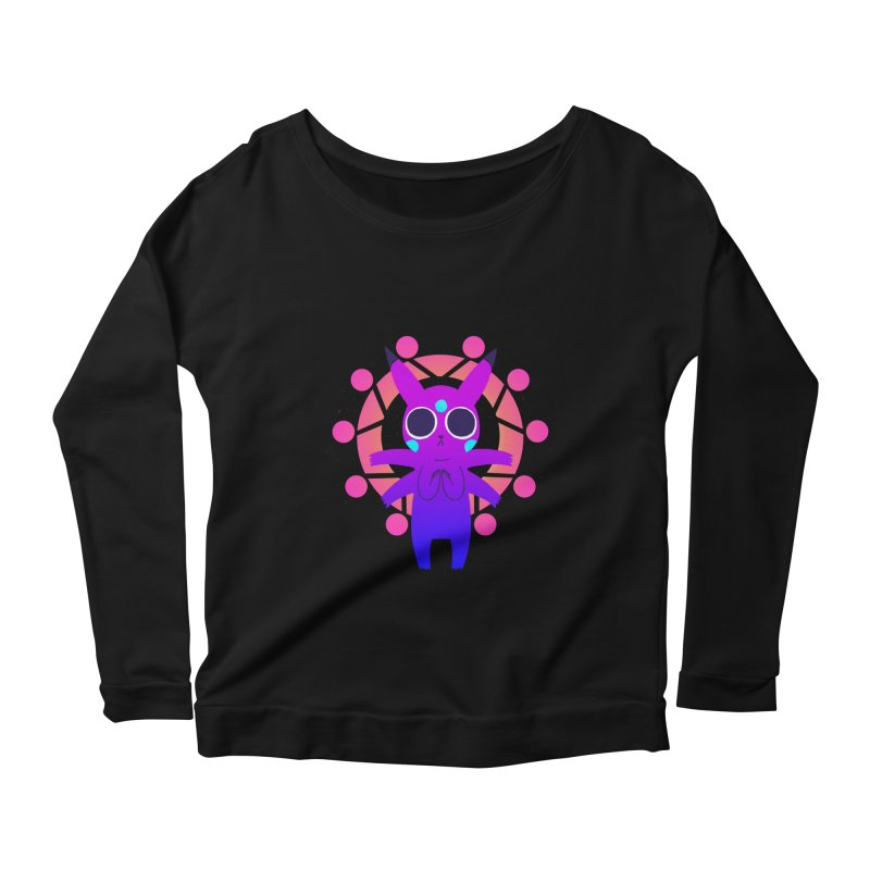Zenachu Women's Scoop Neck Longsleeve T-Shirt by High 5 Toons Store