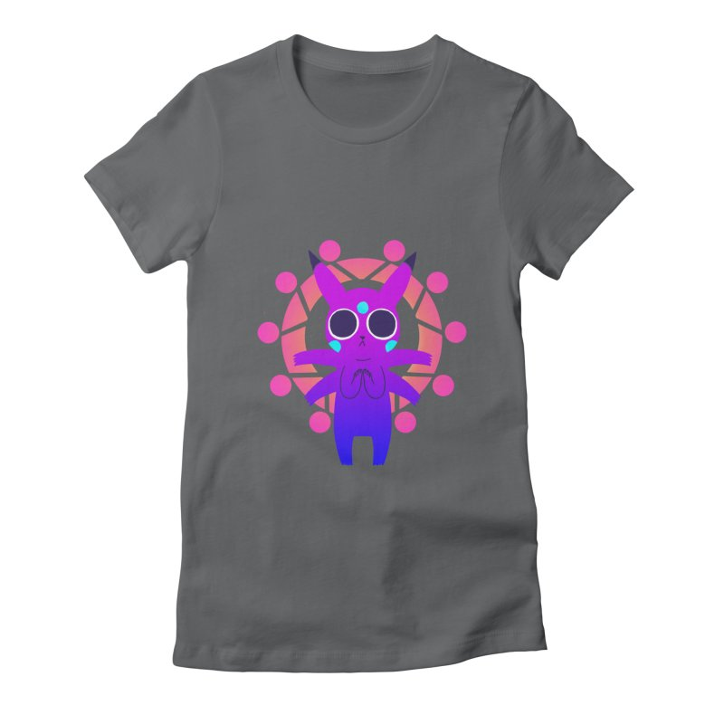 Zenachu Women's Fitted T-Shirt by High 5 Toons Store