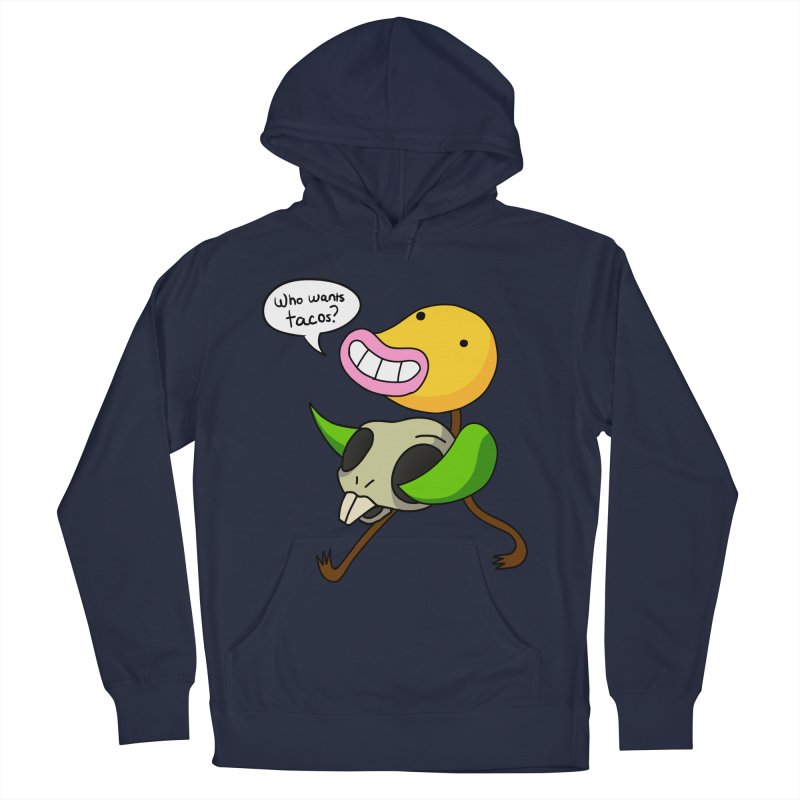 Who wants tacos? Men's French Terry Pullover Hoody by High 5 Toons Store