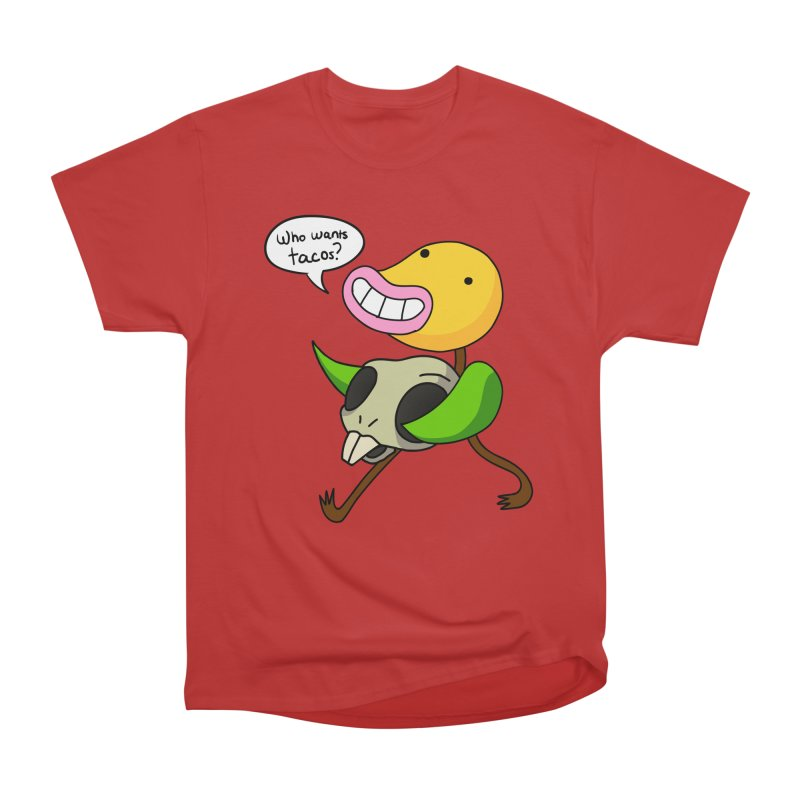 Who wants tacos? Men's Heavyweight T-Shirt by High 5 Toons Store