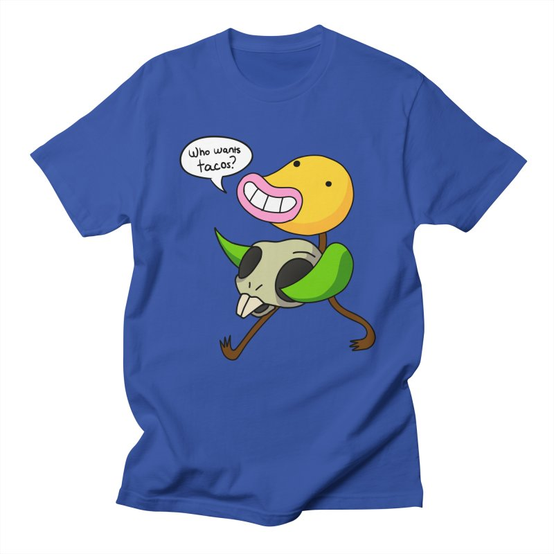 Who wants tacos? Men's T-Shirt by High 5 Toons Store