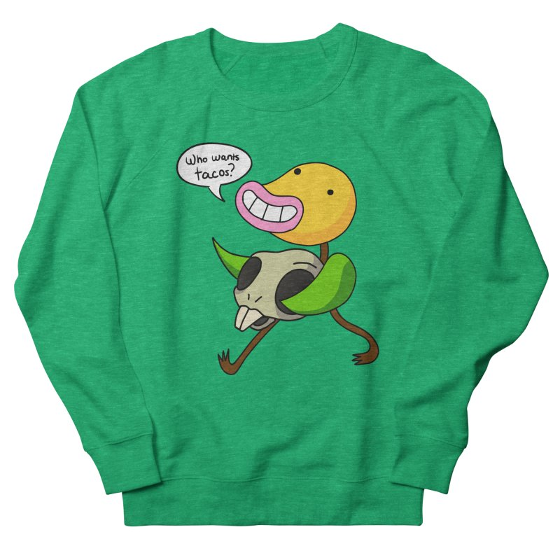 Who wants tacos? Men's Sweatshirt by High 5 Toons Store