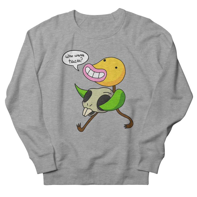 Who wants tacos? Men's French Terry Sweatshirt by High 5 Toons Store