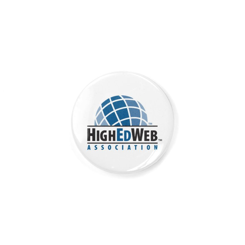 HighEdWeb Classic Logo Accessories Button by HighEdWeb Apparel and Accessories