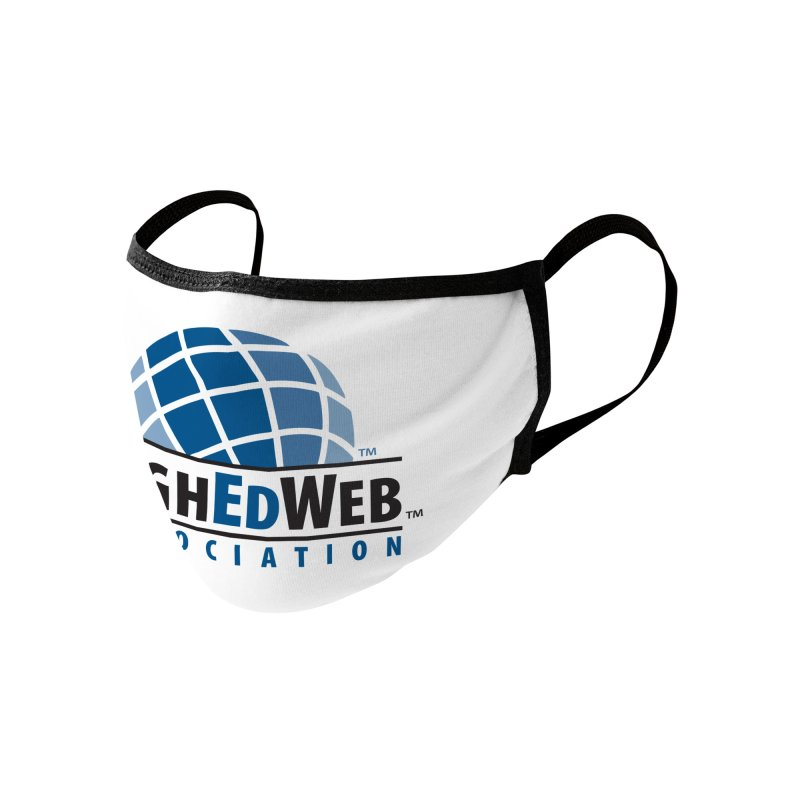HighEdWeb Classic Logo Accessories Face Mask by HighEdWeb Apparel and Accessories