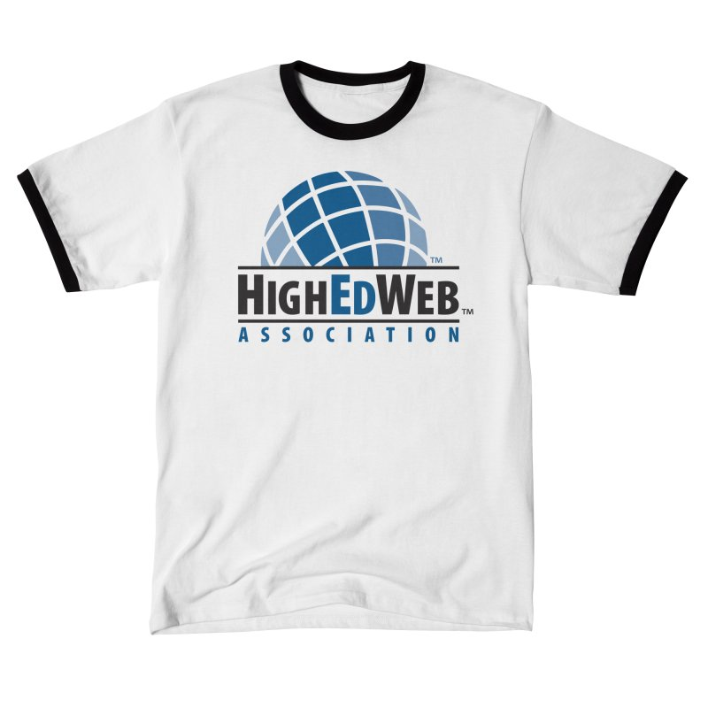 HighEdWeb Classic Logo Men's T-Shirt by HighEdWeb Apparel and Accessories