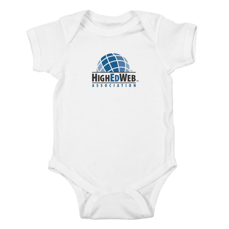 HighEdWeb Classic Logo Kids Baby Bodysuit by HighEdWeb Apparel and Accessories