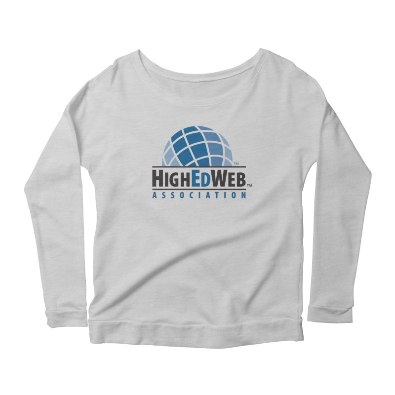 HighEdWeb Classic Logo Women's Longsleeve T-Shirt by HighEdWeb Apparel and Accessories
