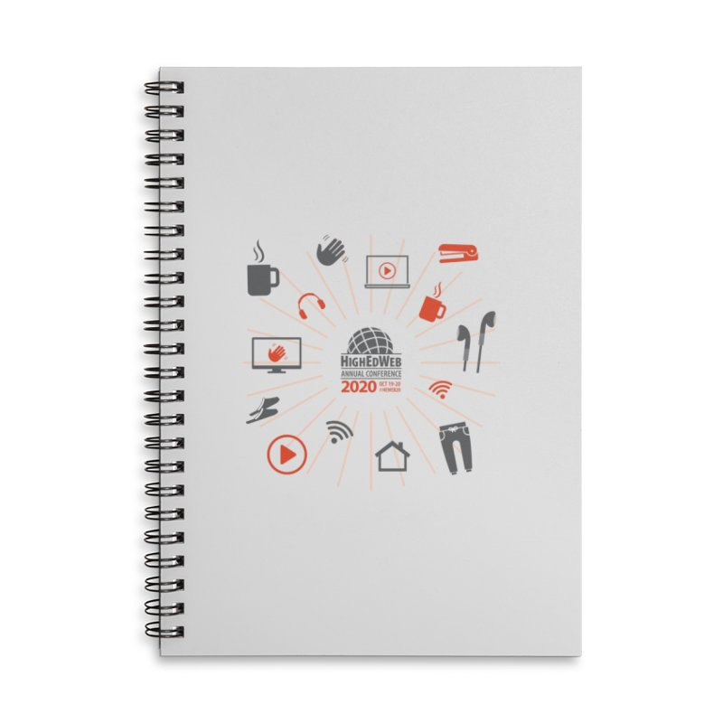 HighEdWeb 2020 Annual Conference — Icon Burst Accessories Notebook by HighEdWeb Apparel and Accessories