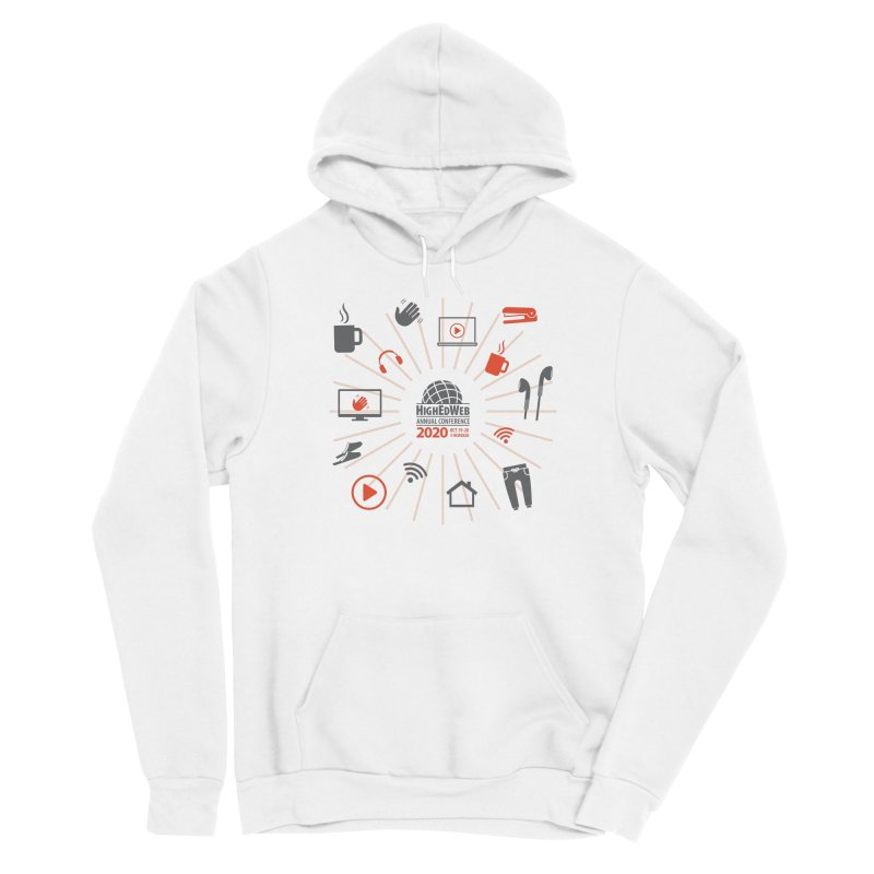 HighEdWeb 2020 Annual Conference — Icon Burst Women's Pullover Hoody by HighEdWeb Apparel and Accessories
