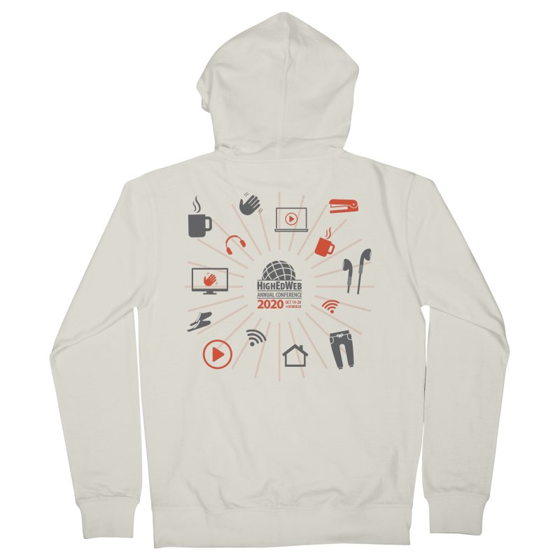 HighEdWeb 2020 Annual Conference — Icon Burst Women's Zip-Up Hoody by HighEdWeb Apparel and Accessories