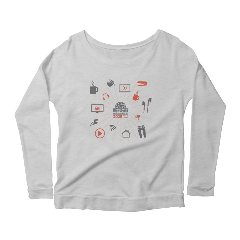 HighEdWeb 2020 Annual Conference — Icon Burst Women's Longsleeve T-Shirt by HighEdWeb Apparel and Accessories