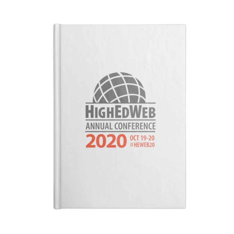 HighEdWeb 2020 Annual Conference — Conference Logo Accessories Notebook by HighEdWeb Apparel and Accessories