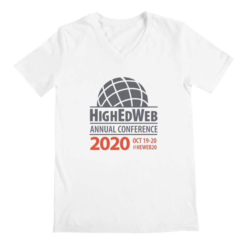 HighEdWeb 2020 Annual Conference — Conference Logo Men's V-Neck by HighEdWeb Apparel and Accessories