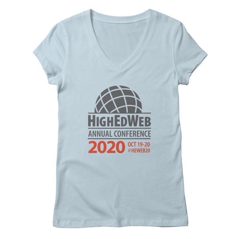 HighEdWeb 2020 Annual Conference — Conference Logo Women's V-Neck by HighEdWeb Apparel and Accessories