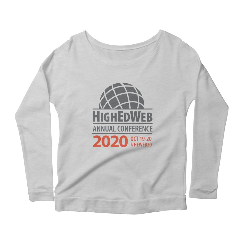 HighEdWeb 2020 Annual Conference — Conference Logo Women's Longsleeve T-Shirt by HighEdWeb Apparel and Accessories