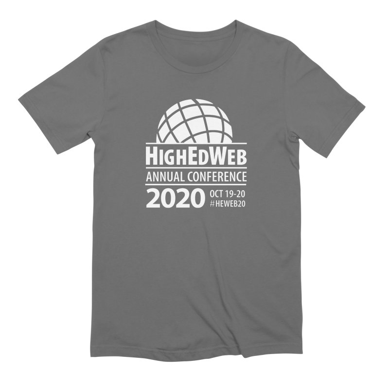 HighEdWeb 2020 Annual Conference — Reversed Conference Logo Men's T-Shirt by HighEdWeb Apparel and Accessories