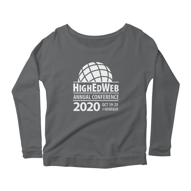 HighEdWeb 2020 Annual Conference — Reversed Conference Logo Women's Longsleeve T-Shirt by HighEdWeb Apparel and Accessories