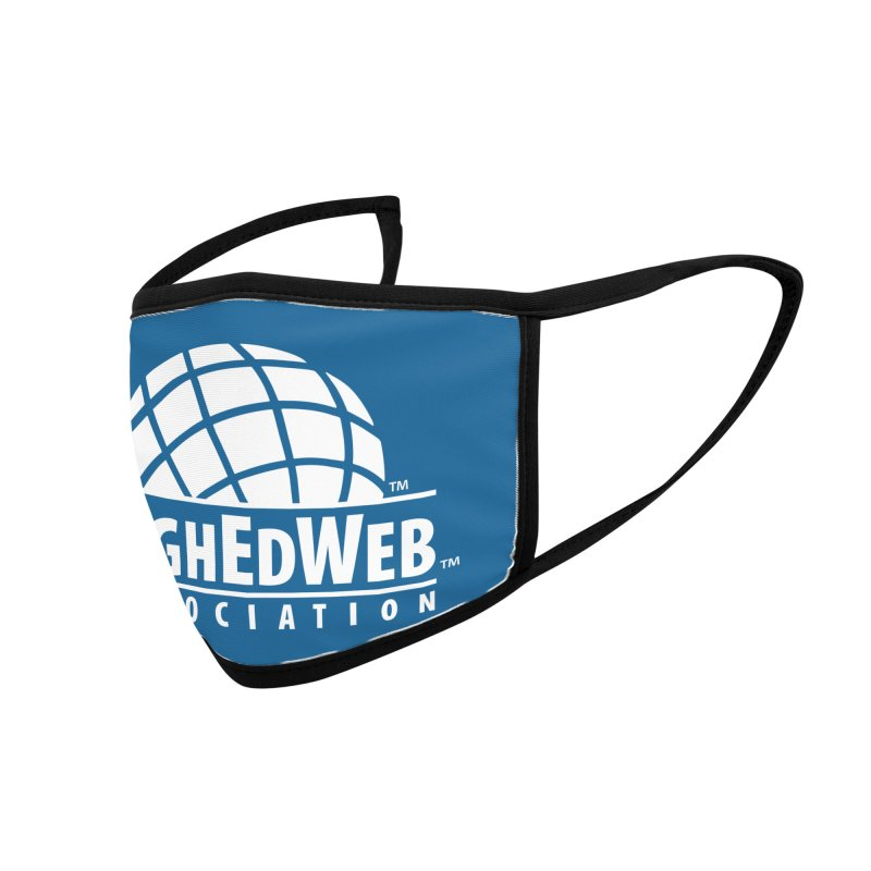 HighEdWeb Reversed Classic Logo Accessories Face Mask by HighEdWeb Apparel and Accessories